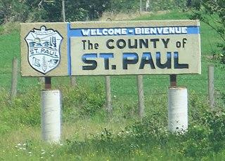 County of St. Paul No. 19 Municipal district in Alberta, Canada
