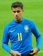 af21229ebe0 Coutinho wears number 11 for the national team