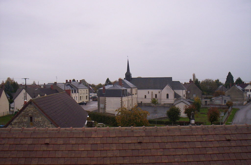 A general view of Couy