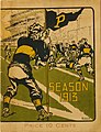 Cover photo of the 1913 University of Pittsburgh Football Year Book Game Day Program.jpg