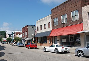 Covington, Virginia - Main Street in Covington, Virginia