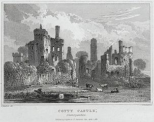 Coyty castle, Glamorganshire