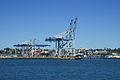Cranes of Auckland Harbor 20100408.jpg