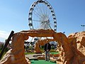 Crazy Golf and big wheel on Seafront at Great Yarmouth - geograph.org.uk - 1075181.jpg