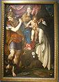 Cremona, museo civico, camillo boccaccino, madonna col bambino san michele arcangelo e il beato ambrogio sansedoni.JPG