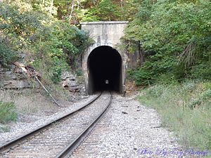 National Register of Historic Places listings in Boone County, Arkansas - Image: Cricket and Crest Tunnels