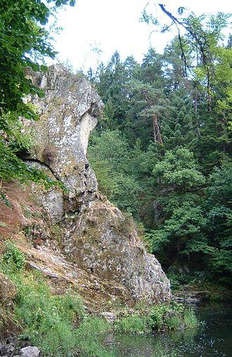 Moselotte - The gorge at Croséry à Thiéfosse