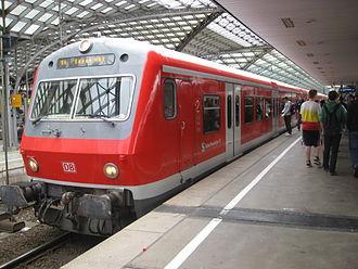 Rhine-Ruhr S-Bahn - X-Wagen coaches of S-Bahn Rhein-Ruhr at Cologne central station