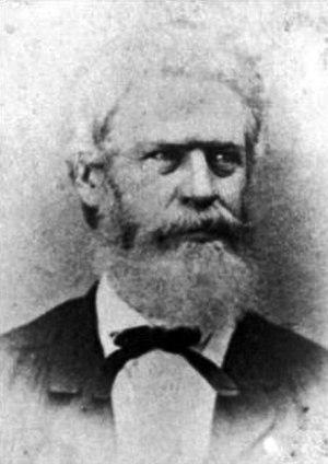 Battle of Honey Springs - General Douglas H. Cooper (1815 - 1879).