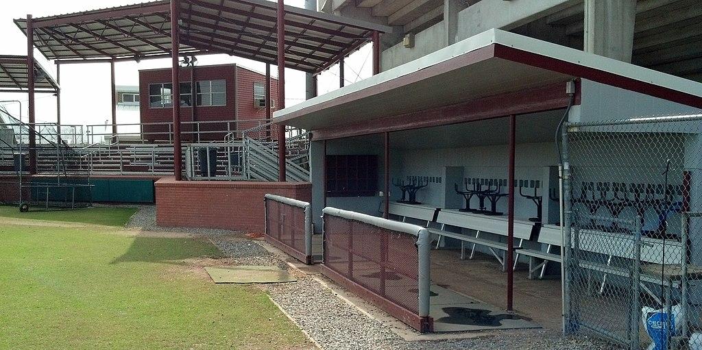 File Dhs Wildcat Baseball Field Dugout Jpg Wikimedia