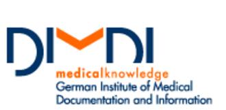 German Institute for Medical Documentation and Information - Image: DIMDI Logo en