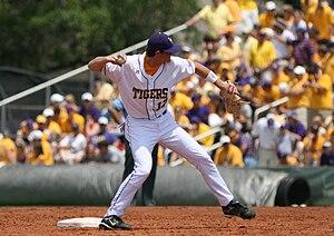 2008 LSU Tigers baseball team - LSU freshman DJ LeMahieu