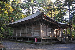 Daisen-ji Buddhist temple in Tottori Prefecture, Japan