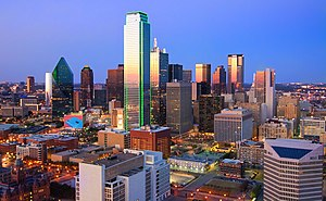 Dallas - Dallas' skyline from Reunion Tower