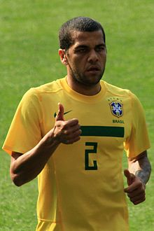 Dani Alves- Scotland vs Brazil Mar10