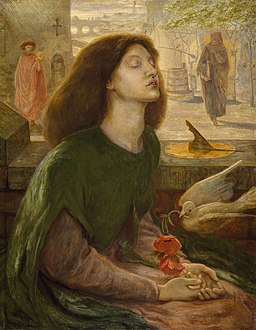 Dante Gabriel Rossetti and Ford Madox Brown - Beata Beatrix
