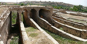 Dara (Mesopotamia) - Remains of the cisterns