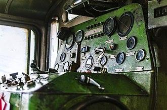 Darjeeling Himalayan Railway - Diesel control panel