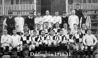 Darlington F.C. - The Darlington team of the 1910–11 season, who reached the last 16 of the FA Cup