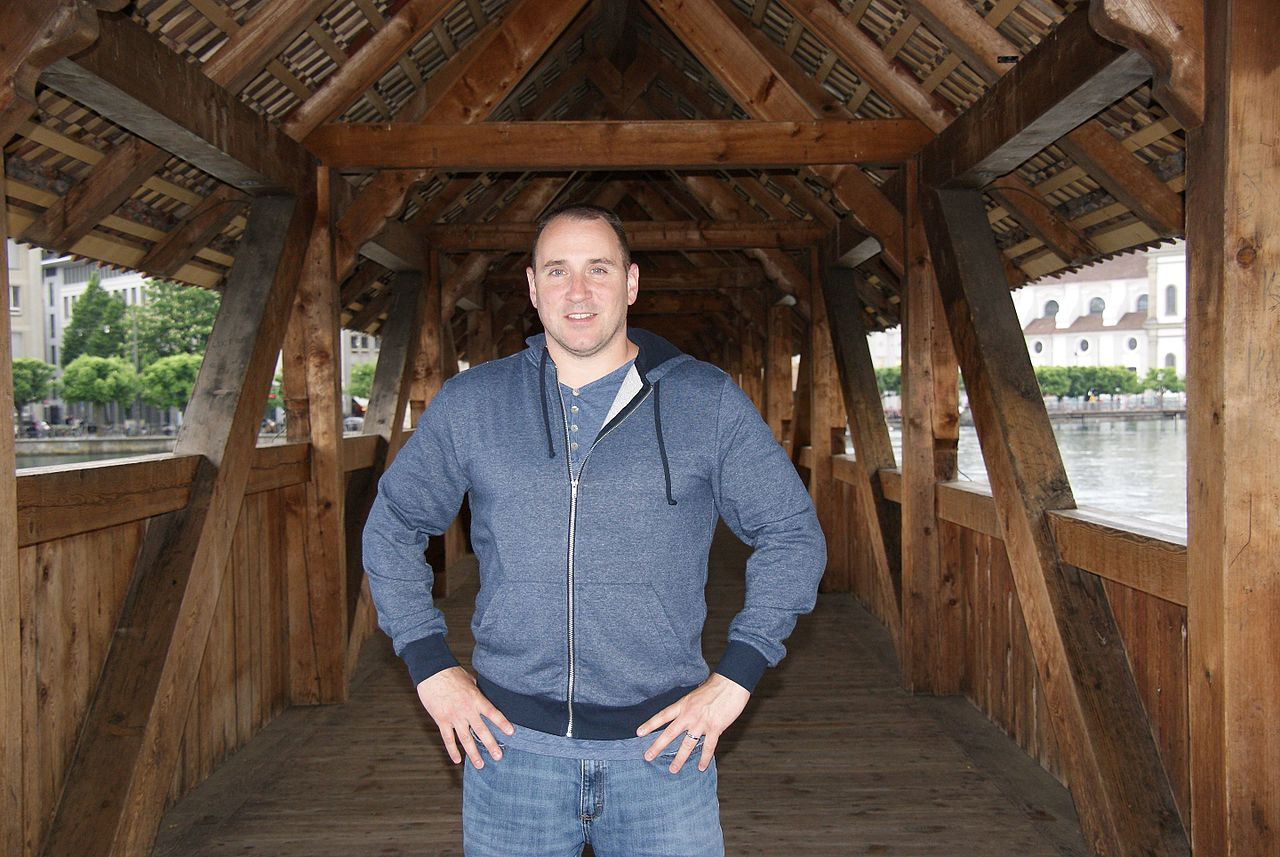 file david firester on the covered bridge lucerne switzerland file david firester on the covered bridge lucerne switzerland 2016 jpg