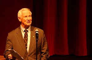 David Johnston - Johnston, then President of the University of Waterloo, introducing Justin Trudeau as a speaker at the university, March 2006