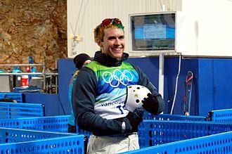 David Morris (skier) - Australian Aerial Skier David Morris at the 2010 Winter Olympic Games in Vancouver, Canada