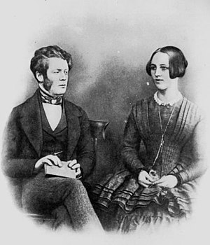Mary McConnel (pioneer) - Image: David and Mary Mc Connel