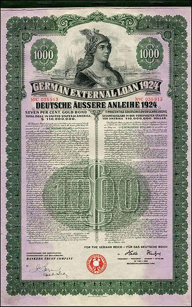 https://upload.wikimedia.org/wikipedia/commons/thumb/6/6c/Dawes_Anleihe_1924_1000%24.jpg/377px-Dawes_Anleihe_1924_1000%24.jpg