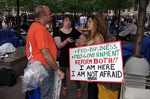 Day 12 Occupy Wall Street September 28 2011 Shankbone 11.JPG