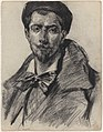 De dichter Jean Richepin, James Ensor, circa 1880-1890, Koninklijk Museum voor Schone Kunsten Antwerpen, 2711 122.001.jpeg
