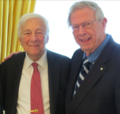 Dean Emeritus John H McArthur and John C Whitehead.png