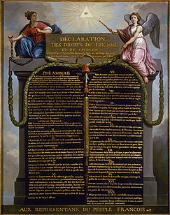 Declaration of the Rights of Man and of the Citizen foundational document of the French Revolution