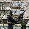 Defilé Korps Mariniers op de Coolsingel te Rotterdam ter ere van het 350 jarig bestaan. (23592292992).jpg