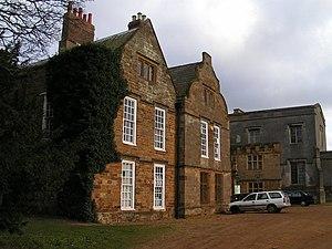 Delapre Abbey. Although the buildings are a li...