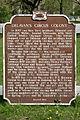 Delavan's Circus Colony Historical Marker (3539228196).jpg