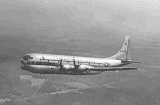 142d Airlift Squadron - 142d Air Transport Squadron, C-97 Stratofreighter, 1965