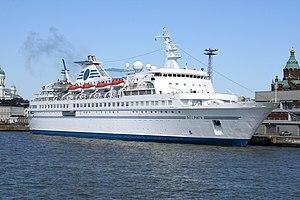 Belorussiya-class cruiseferry - Delphin in Helsinki
