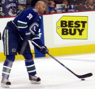Pavol Demitra - Pavol Demitra with the Vancouver Canucks.
