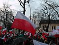 Demonstration of supporters of changes to the law on the Constitutional Tribunal in Poland 13 12 2015.JPG