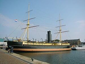 HNLMS Schorpioen - Image: Den helder schorpioen