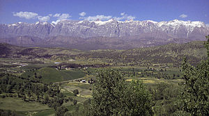 Kohgiluyeh and Boyer-Ahmad Province - Dena Range as seen from South West
