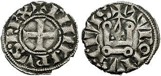 Tornesel - Image: Denier tournois 1270