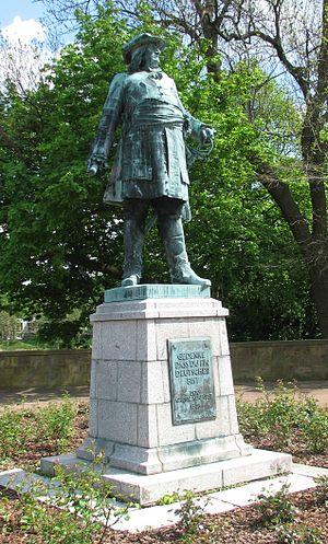 Kurfürsten-Denkmal in Minden, Westfalen (Quelle: Wikimedia)