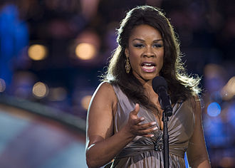 Denyce Graves - Graves performing at the PBS National Memorial Day Concert in Washington, D.C., 2009