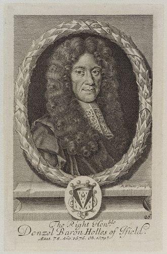 Denzil Holles, 1st Baron Holles - Lord Holles as an older man.