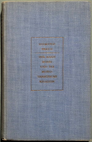 Moses and Monotheism - Cover of the 1939 first edition
