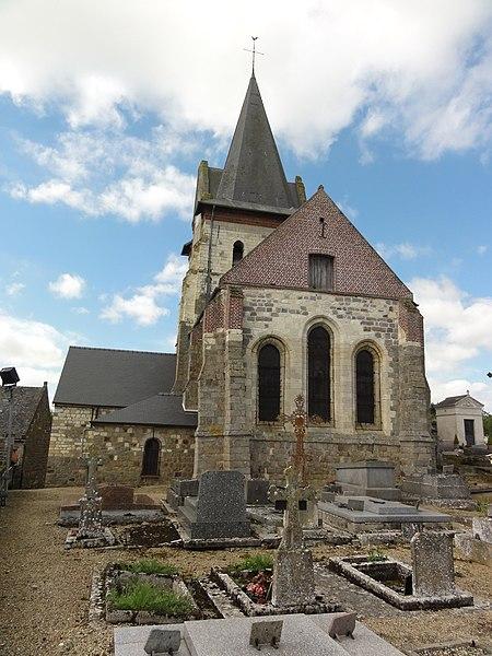 Dercy (Aisne) église