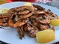 Des crevettes grillées au Harenguier (juin 2020).jpg