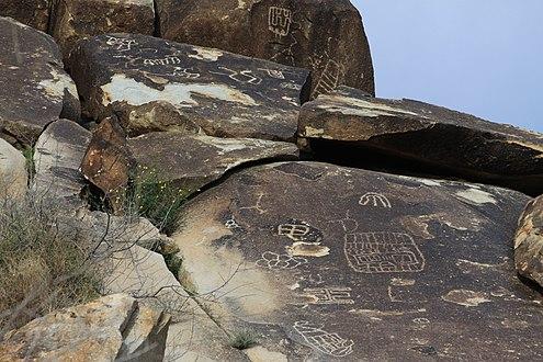 Grapevine Canyon Petroglyphs Wikipedia