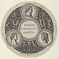 Design for a Dish with Portraits of the Roman Emperors Vetllius, Domitian, and Augustus MET DP837267.jpg